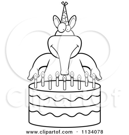 candles for the home. candles. home plan and house design ideas - Blank Birthday Cake Coloring Page