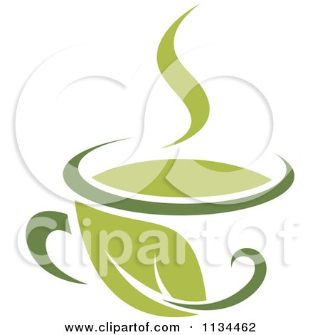 Poster, Art Print: Cup Of Green Tea Or Coffee 8 by Seamartini Graphics