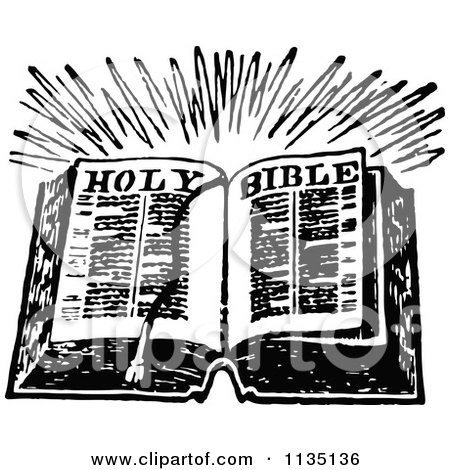 Royalty-Free (RF) Open Bible Clipart, Illustrations, Vector ...