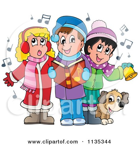 Royalty-Free (RF) Singing Clipart - 52.4KB