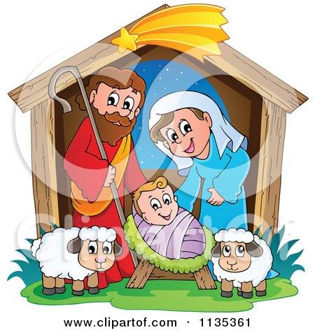 Nativity Scene Posters, Art Prints