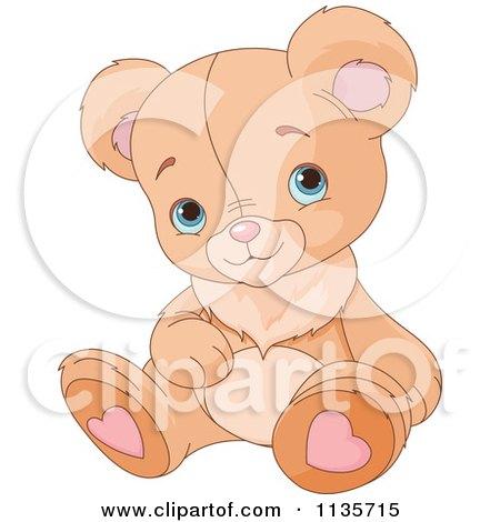 Teddy Bear Eyes Drawing Cute Teddy Bear Sitting