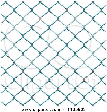 Clipart Of A Seamless Rusty Chain Link Fence Texture Background Pattern Version 3 - Royalty Free CGI Illustration by Ralf61