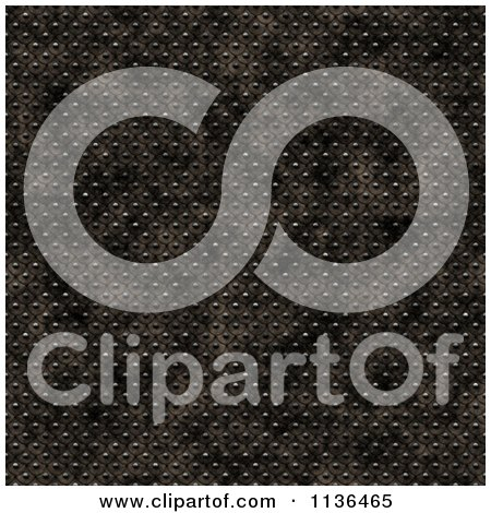 Clipart Of A Seamless Studded Skin Scales Texture Background Pattern Version 9 - Royalty Free CGI Illustration by Ralf61