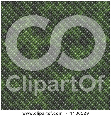 Clipart Of A Seamless Green Scales Texture Background Pattern Version 2 - Royalty Free CGI Illustration by Ralf61