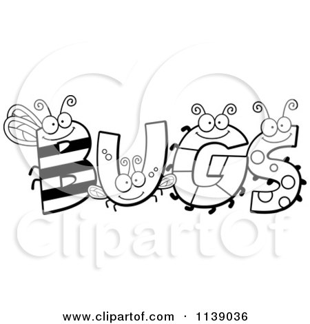 cartoon bug coloring pages - photo#29
