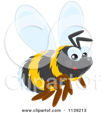Royalty-Free (RF) Bumble Bee Clipart, Illustrations, Vector ...