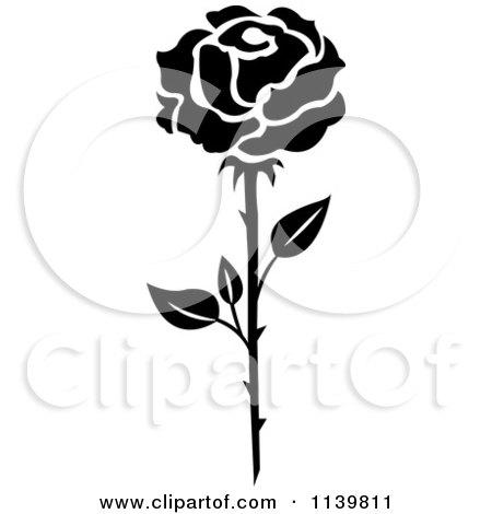 Flower Prints Black And White Black And White Rose Flower 22