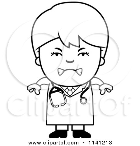 Royalty Free RF Kid Doctor Clipart Illustrations