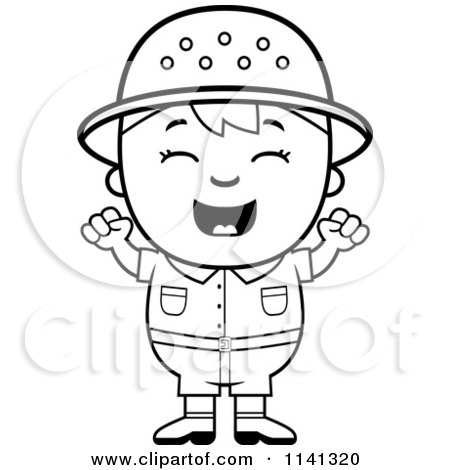 safari people coloring pages - photo#44