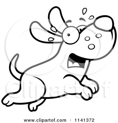 Royalty-Free (RF) Scared Dog Clipart, Illustrations ...