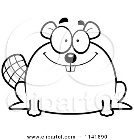 Royalty-Free (RF) Happy Beaver Clipart, Illustrations, Vector ...
