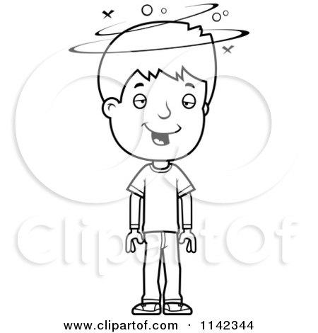 Royalty Free Rf Sick Boy Clipart Illustrations Vector