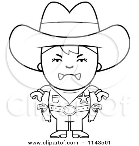 Royalty Free RF Clipart Of Sherriffs Illustrations