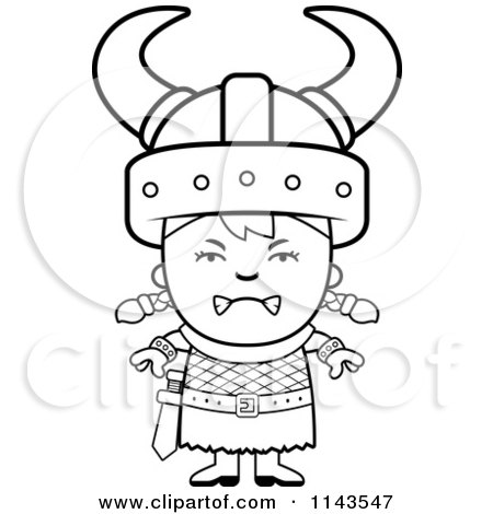 Royalty Free RF Clipart Of Viking Kids Illustrations