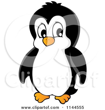 Cute Little Penguin 2 Posters  Cute Blue Cartoon Penguin