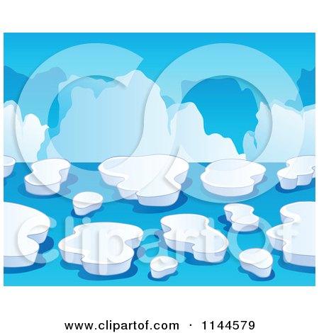 Royalty free rf clipart of icebergs illustrations for Clipart iceberg
