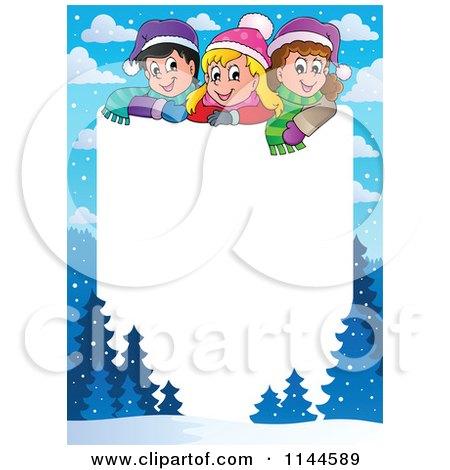 royalty free rf christmas children clipart illustrations vector rh clipartof com