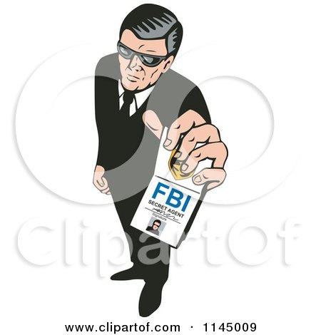 Royalty-Free (RF) Secret Agent Clipart, Illustrations, Vector ...