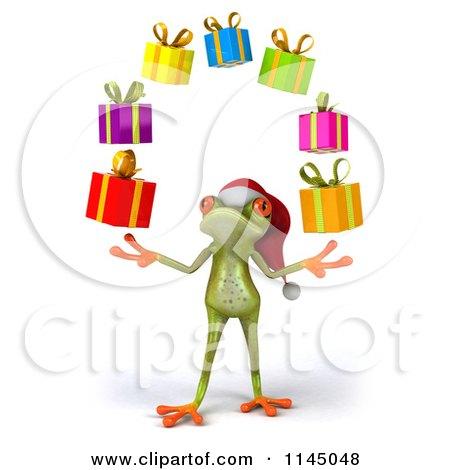 Funny Secret Santa Clip Art Preview clipart
