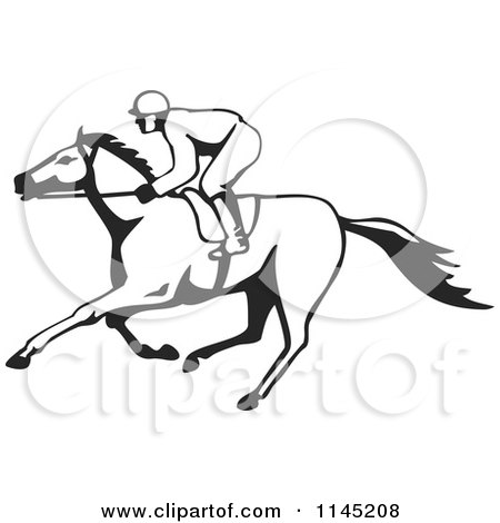 Royalty Free Race Horse Illustrations by patrimonio Page 1