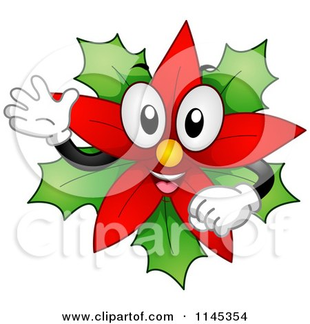 Royalty Free Rf Poinsettia Clipart Illustrations