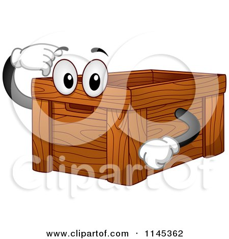 wooden box clipart. preview clipart wooden box