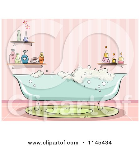 Royalty Free Rf Clipart Illustration Of A Watercolor And