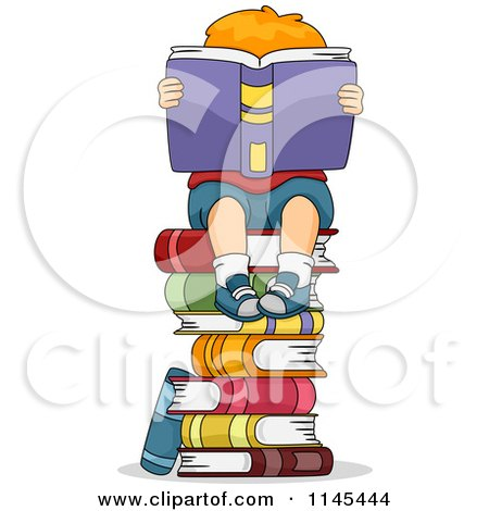 Royalty-Free (RF) Book Stack Clipart, Illustrations, Vector ...