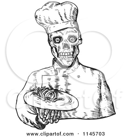 RoyaltyFree RF Cannibal Clipart