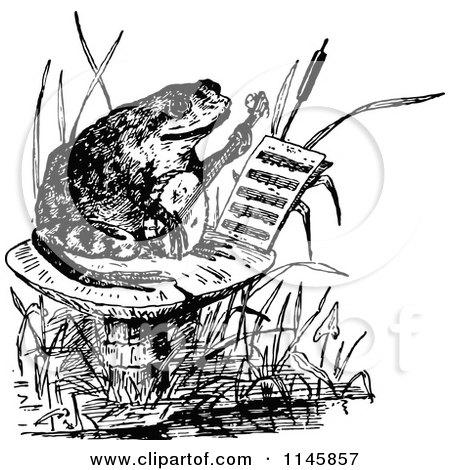 Black frog art - photo#44