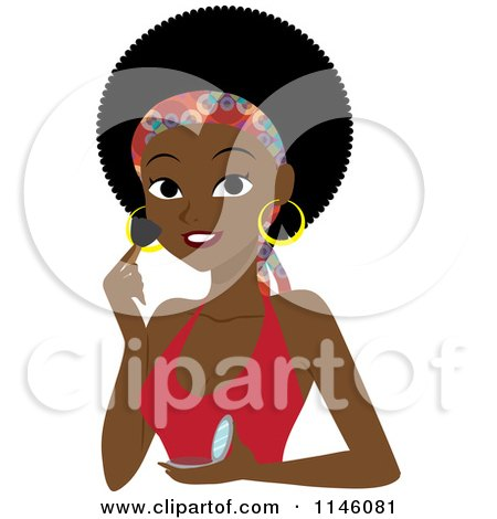 Royalty-Free (RF) African American Women Clipart, Illustrations ...