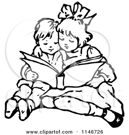 royalty free sister illustrations by prawny vintage page 1 rh clipartof com Apple Clip Art Black and White Baby Clip Art Black and White