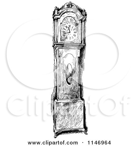 Royalty-Free (RF) Grandfather Clock Clipart, Illustrations ...