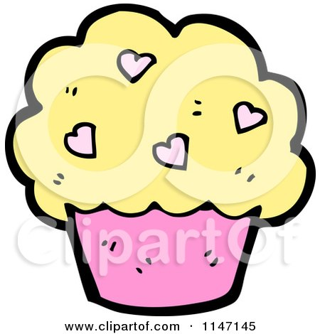 Royalty-Free (RF) Clipart of Cupcakes, Illustrations ... Cartoon Cupcakes Clipart
