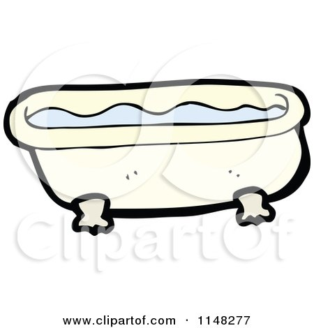 how to make bath tub clipart