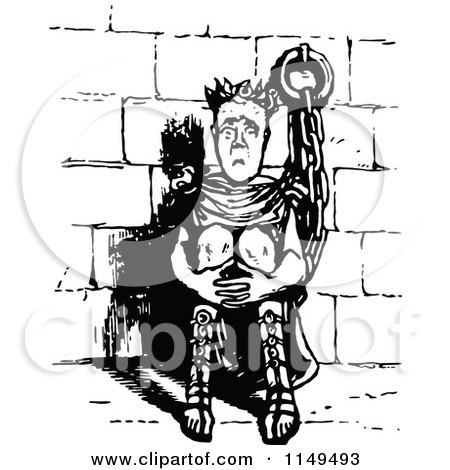 Royalty-Free (RF) Prison Clipart, Illustrations, Vector Graphics #5
