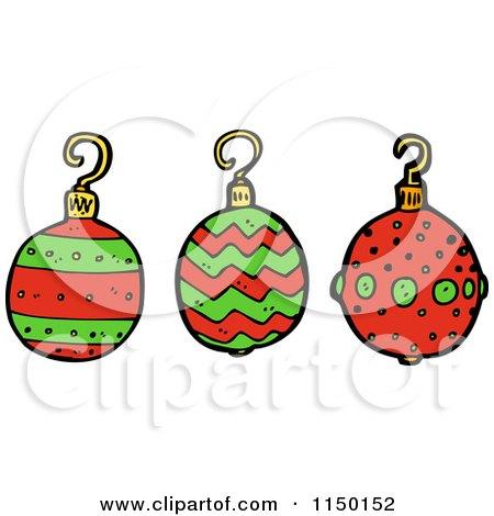 Americana Christmas Ornaments