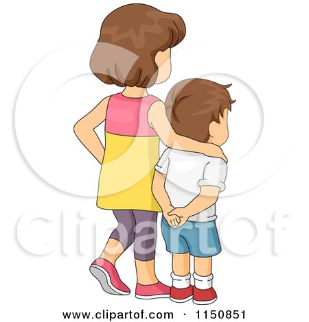 Royalty-Free  RF  Little Brother Clipart  amp  Illustrations  1Older Brother Clipart