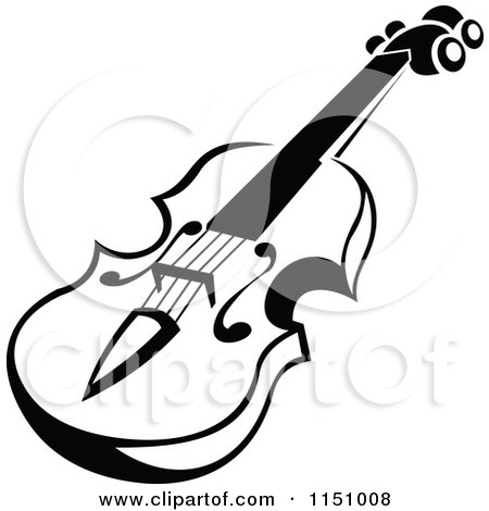 Black And White Viola Or Fiddle Violin 2 1151009 on small digital piano