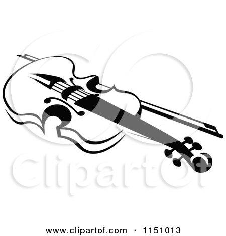 Royalty-Free (RF) Viola Bow Clipart, Illustrations, Vector Graphics #1