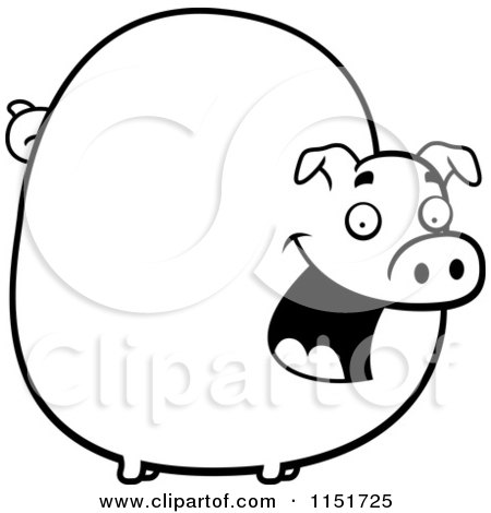 Royalty Free Pig Illustrations by Cory Thoman Page 4