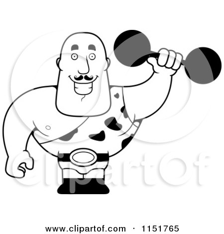 free strong man coloring pages - photo#17