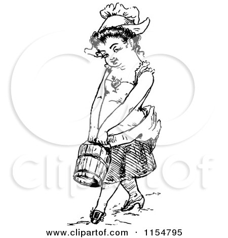 Royalty Free Rf Fetching Water Clipart Illustrations