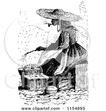 Duck Smoking Pipe White Woman Smoking a Pipe