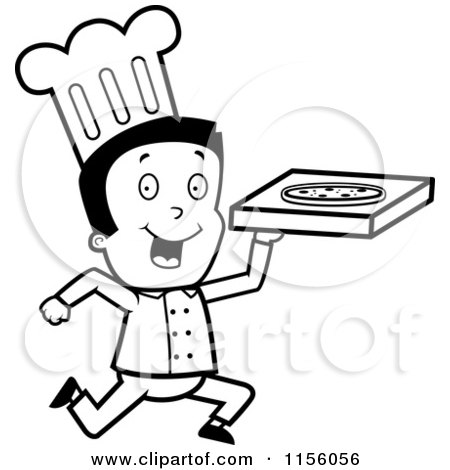 clipart pepperoni pizza character royalty free vector