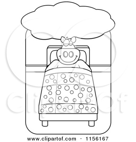 big bed pics coloring pages - photo#17