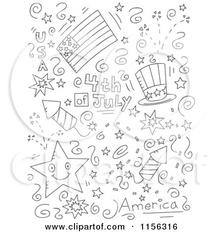 images independence day clipart black and white