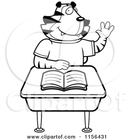 Royalty Free Stock Illustrations of Desks by Cory Thoman Page 1