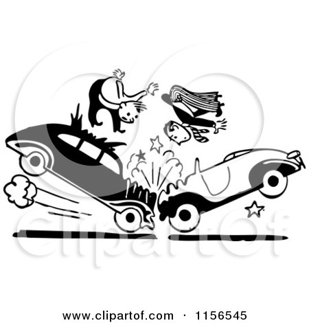 Royalty-Free (RF) Car Accident Clipart, Illustrations, Vector ...